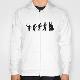 The Evolution Of Man And Double Bass Hoody