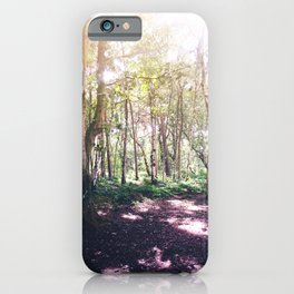 Forest Glare iPhone Case