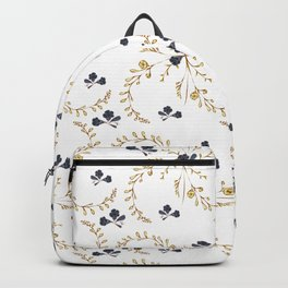 Floral Hand Draw Light Backpack