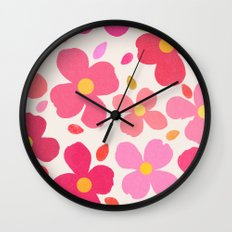 dogwood 7 Wall Clock