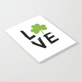 Love St Patricks Day Notebook