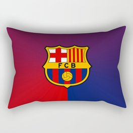 barcelona Sport Football Spain red blue team Rectangular Pillow
