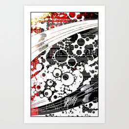 BK abstrakt 1 Art Print