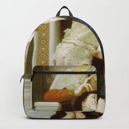 William-Adolphe Bouguereau - La Vierge, L'Enfant Jésus et Saint Jean-Baptiste Backpack