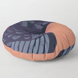 Crow Floor Pillow