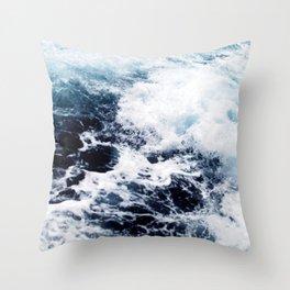 Seawater Throw Pillow