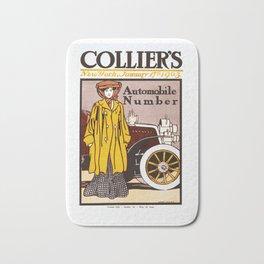 Collier's Automobile Number 1903 Bath Mat