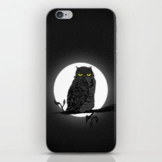 Night Owl V. 2 iPhone & iPod Skin