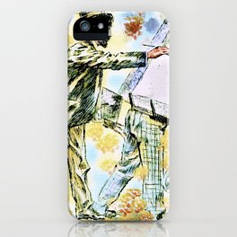Bohemian Art and Inequality iPhone Case