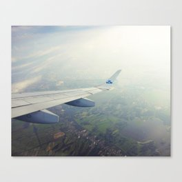 High above me Canvas Print
