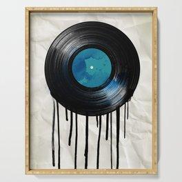 vinyl drip Serving Tray