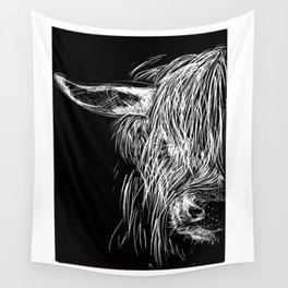 Scottish Highland Cow Wall Tapestry