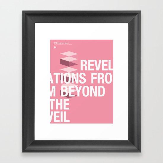 IGNS poster design Framed Art Print