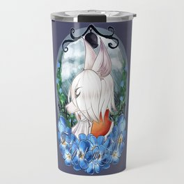 Forget me Not Travel Mug