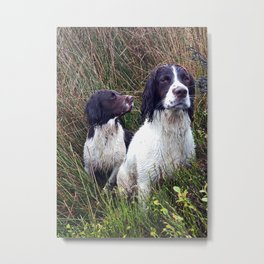 Stanley and Walter Metal Print