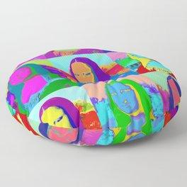 Mona Lisa - Pop Art Floor Pillow