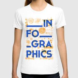INFOGRAPHICS T-shirt