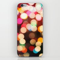 bokeh iPhone & iPod Skins featuring Bokeh by Christine VanFonda