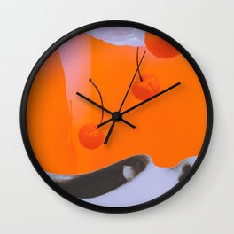 "iNdulge"" Wall Clock"