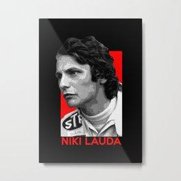 Formula One - Niki Lauda Metal Print