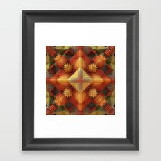 Fall Approaches Framed Art Print