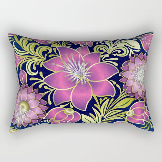 Shabby flowers #1 Rectangular Pillow