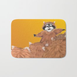 Raccoon Series: Come Look! Bath Mat