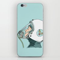 pilot iPhone & iPod Skins featuring Pilot by Jason Ratliff