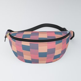 Patchwork Pink Fanny Pack