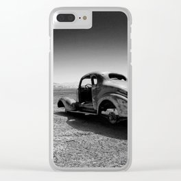 1936 Hot Rod coupe Clear iPhone Case