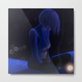 Looking into the Light Metal Print