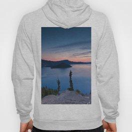Sunrise At Crater Lake Hoody