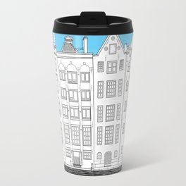 Dancing houses, Amsterdam Travel Mug