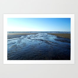 Heavy Flowing Art Print