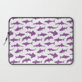 Violet Sharks Laptop Sleeve