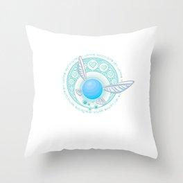 Navi Nouveau Throw Pillow
