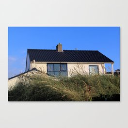 house in the dunes Canvas Print