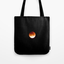 Super Blue Blood Moon Tote Bag