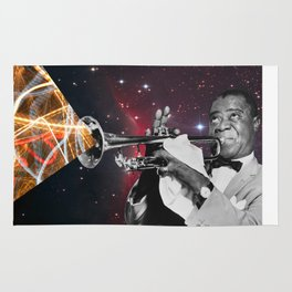 Louis Light (Digital Collage) Rug