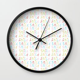 smile 12 Wall Clock
