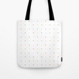 Hearts and dots Tote Bag