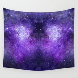 Metatron's Cube Wall Tapestry