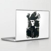 napoleon Laptop & iPad Skins featuring napoleon by Chuchuligoff