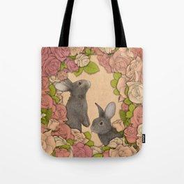 Rosie Rabbits Tote Bag
