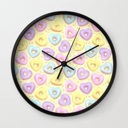 I Heart Donuts Wall Clock