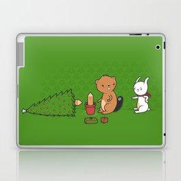 Beavers ruin Christmas Laptop & iPad Skin