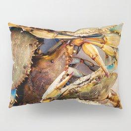 Blue Crabs Pillow Sham