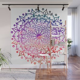 INTENSE SUNSET MANDALA Wall Mural