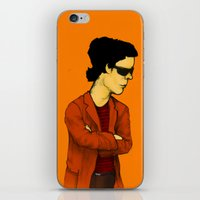 lou reed iPhone & iPod Skins featuring Lou Reed by Nick Gibney
