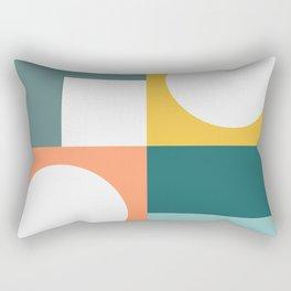 Modern Geometric 53 Rectangular Pillow